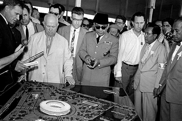 Kisah Soekarno, Sang Arsitek dan Seniman