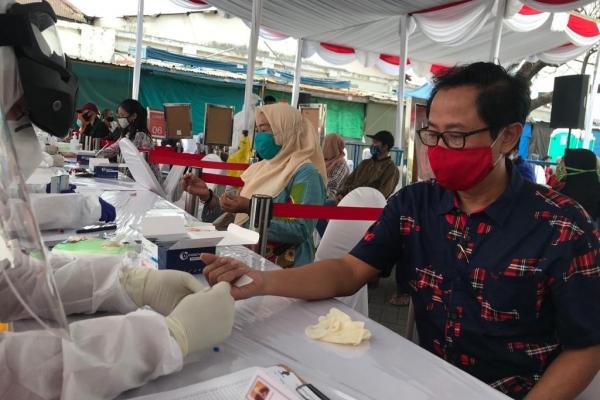Banteng Surabaya Tinjau Tes Massal Corona oleh BIN
