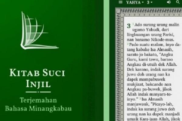 Soal Injil Bahasa Minang, Budiman Kecam Gubernur Sumbar