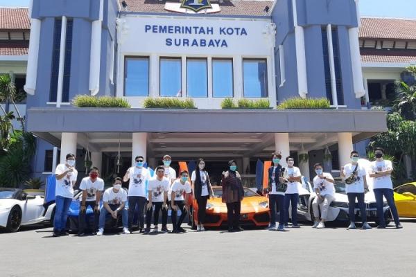 """Crazy Rich Surabaya"" Bantu Risma Atasi COVID-19"