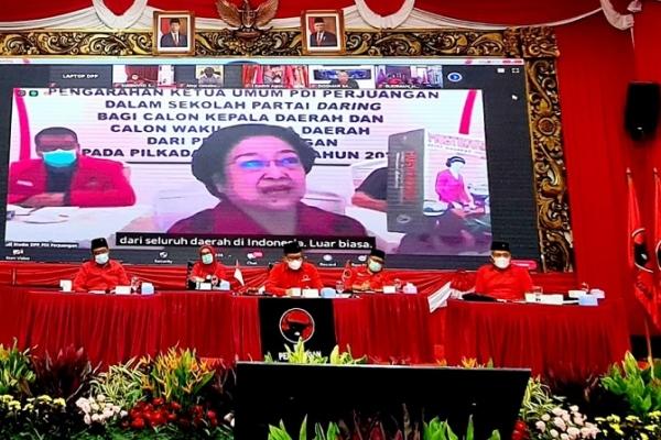 Berikut Pedoman Megawati Bagi Para Cakada di Tengah Pandemi