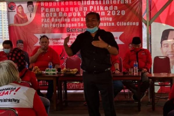 Sukur Ajak Warga Depok Datang ke TPS Coblos Pradi-Afifah
