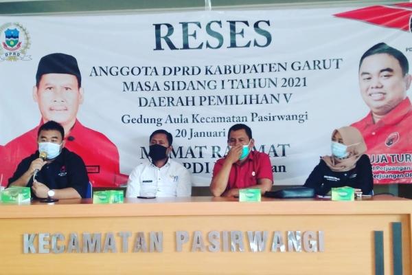Banteng Garut Miris Melihat Penanganan Sampah di Pasirwangi