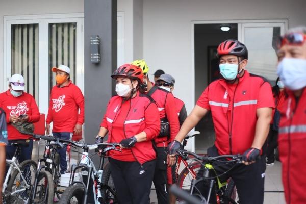 Banteng Jateng Ikut Meriahkan Gowes Sepeda Sehat