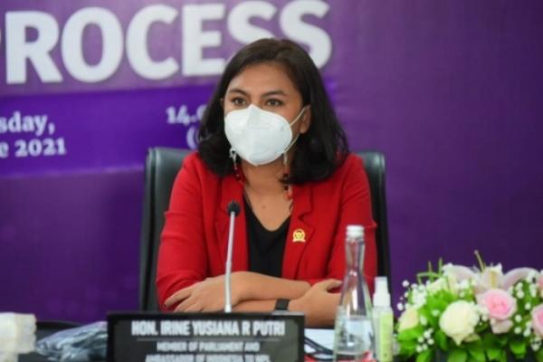 Irine Apresiasi Langkah Cepat TNI AU