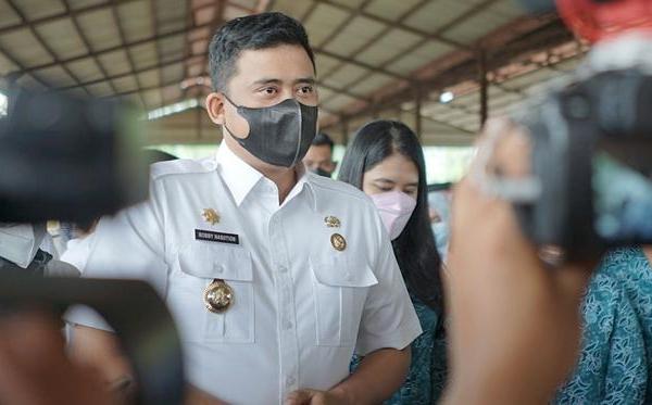 Bobby Canangkan Tiga Pasar Bersih di Kota Medan