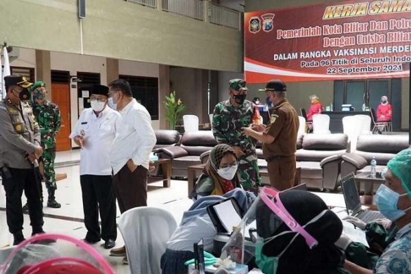 Wali Kota Santoso Jadikan Vaksinasi Syarat Kuliah