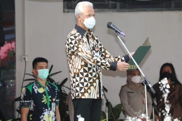 Ganjar Dukung Presiden Jokowo Berantas Mafia Tanah
