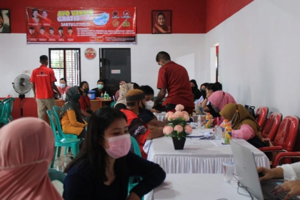 Rudi Center Sukses Vaksinasi 26.000 Orang di Babel