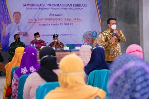 Edy Wuryanto : Dukung Peningkatan Kualitas Produk UMKM!