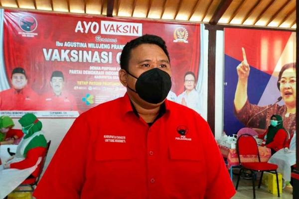 DPC PDI Perjuangan Sragen Tegaskan Tegak Lurus Partai