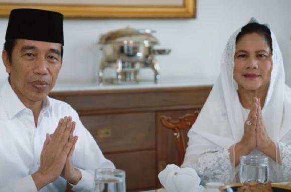 Presiden & Ibu Negara Ucapkan Selamat Hari Raya Idul Fitri