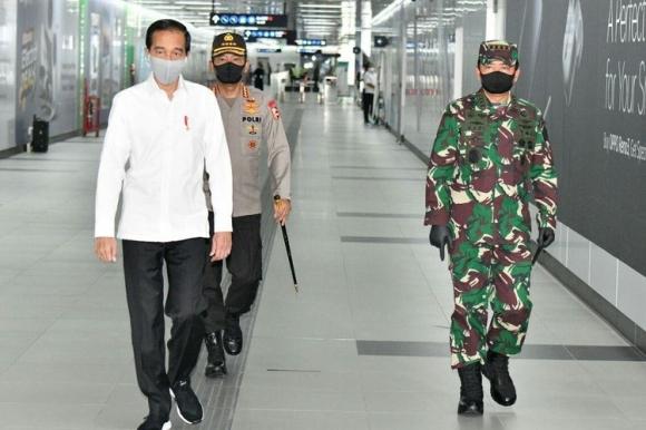 Presiden Jokowi Siap Kerahkan Aparat untuk Disiplinkan Warga