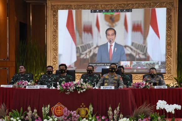 Capaja TNI & Polri Harus Konsisten Terhadap Ideologi Negara