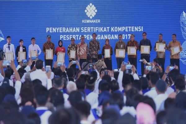 Presiden Jokowi Ingin Dana Abadi Pendidikan untuk Riset dan Ketenagakerjaan