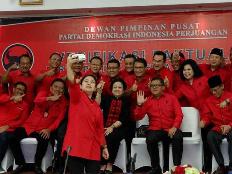 Megawati Hadiri Verifikasi Faktual Partai