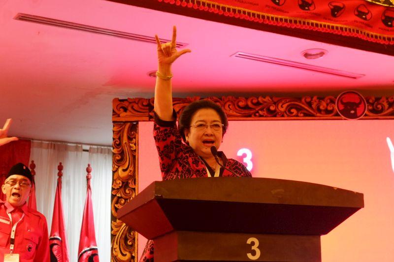 Megawati: Alhamdulillah, Rakernas III Resmi Ditutup!