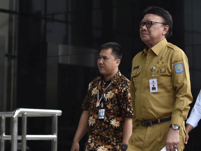Menteri Tjahjo Prihatin OTT Kepala Daerah Terjadi Lagi