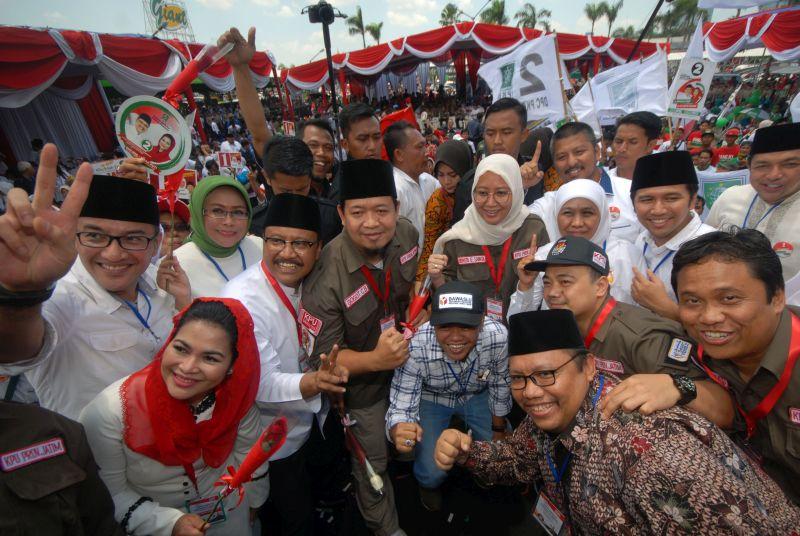 Dukungan Jokowi Dongkrak Elektabilitas Gus Ipul-Puti