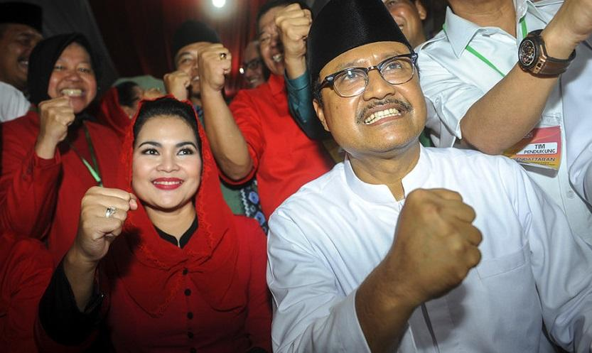 Indo Barometer: Elektabilitas Gus Ipul-Puti Ungguli Khofifah