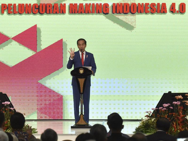 Jokowi Optimistis Making Indonesia 4.0 Berdampak Positif