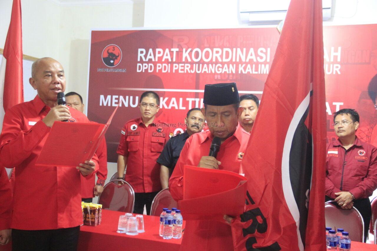 Safaruddin Ditunjuk Sebagai Plt Ketua PDIP Kaltim
