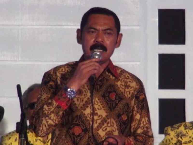 Wali Kota Solo Lepas Jenazah Slamet Suryanto