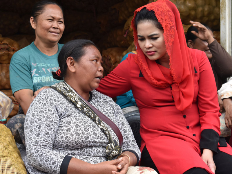 Tokoh Reog Beri Mandat Puti Soekarno Lestarikan Kesenian