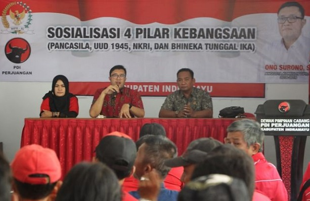 PDI Perjuangan Garda Terakhir Penjaga Ideologi Pancasila