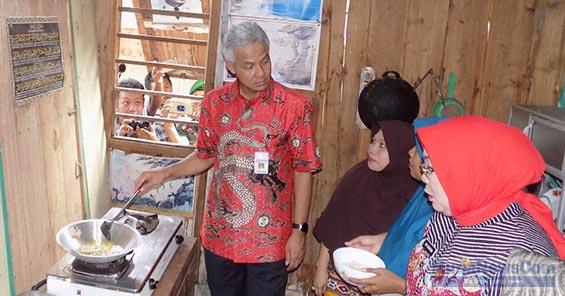 Ganjar Janji Tingkatkan Kerja Sama dengan Pemkab Grobogan