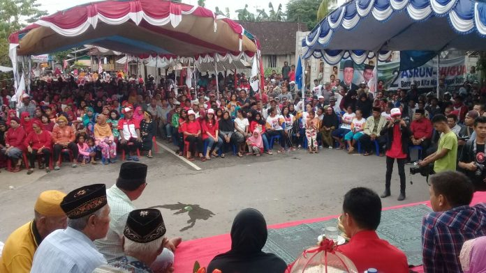 Hugua Kampanye di Wakatobi, Jumlah Pendukung Lebihi Target