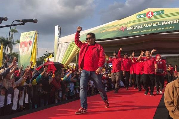 Hasto: Menangkan Dodi-Giri, Lanjutkan Kepemimpinan Jokowi