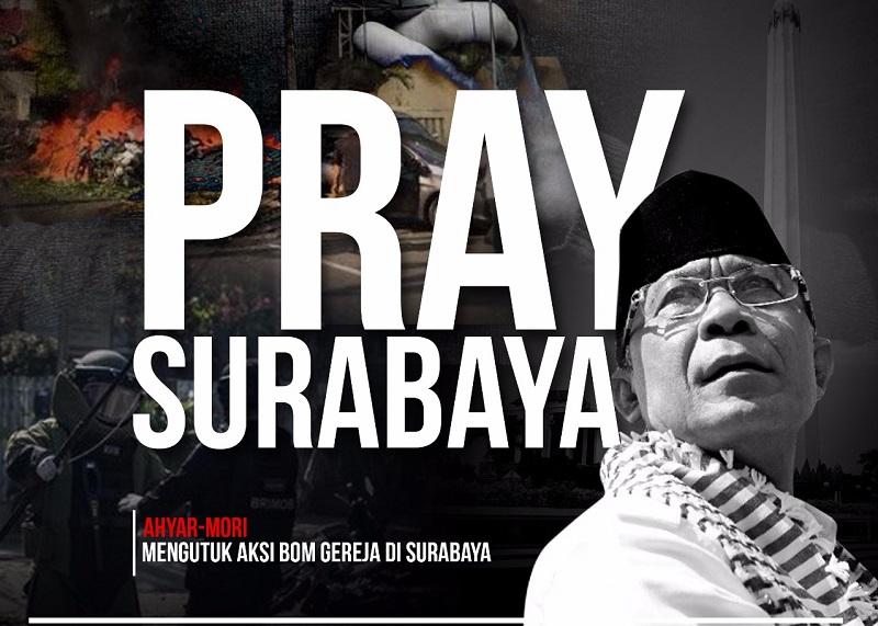 Kutuk Aksi Teror Surabaya, Ahyar-Mori Ajak Persatuan