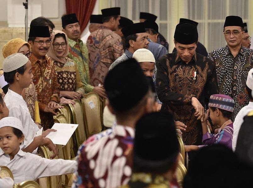 Peringati Nuzulul Quran, Jokowi: Al Quran Sumber Inspirasi