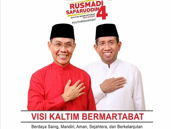 Warga Dayak Kukar Percayakan Kaltim pada Rusmadi-Safaruddin
