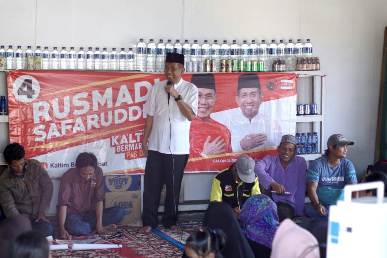 Aksi Milenial Kaltim Ngevlog untuk Rusmadi-Safaruddin