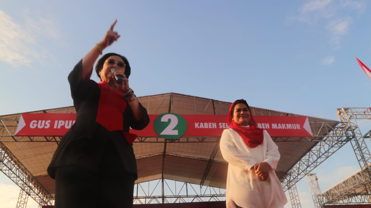 Megawati: Jatim Aman Jika Dipimpin Nasionalis dan Nahdliyin