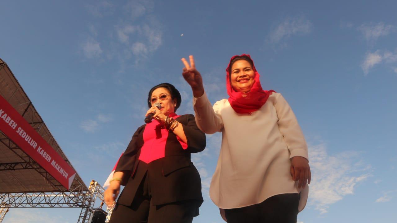 Megawati: Pilih Pemimpin yang Tidak Gonta-Ganti Partai