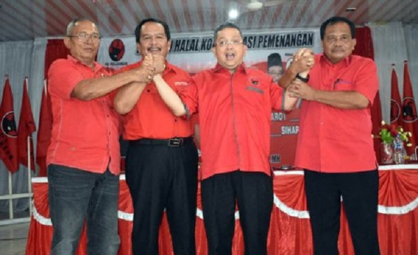 Trimed Pimpin Konsolidasi di Labuanbatu Raya Menangkan DJOSS