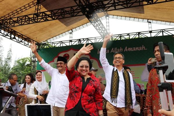 Megawati: Jangan Pilih Pemimpin yang Suka Menampar