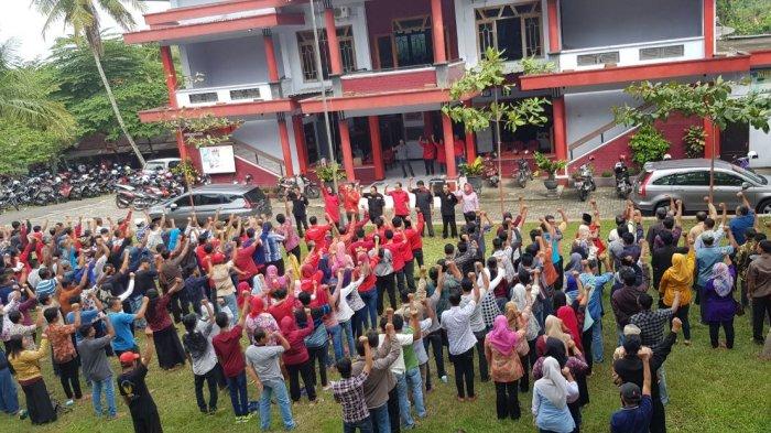 PDI Perjuangan Trenggalek Apel Siaga untuk Pilgub Jatim