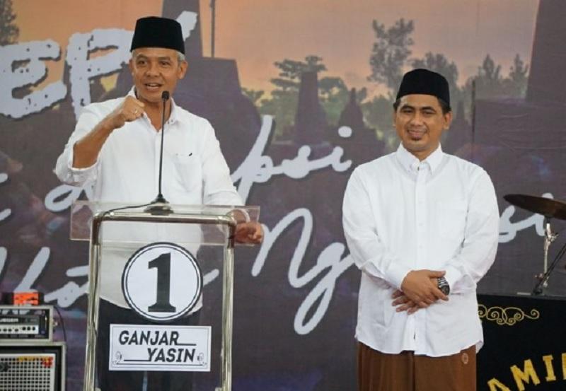 Hitung Cepat SMRC Pilkada Jateng, Ganjar-Yasin Unggul