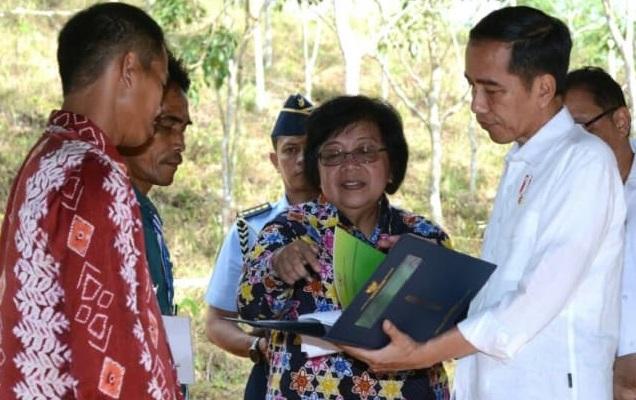 Tingkatkan Produksi Pertanian, Jokowi Terangkan Lahan Hutan