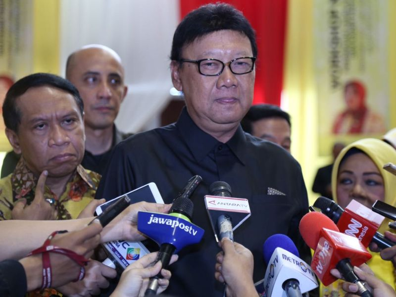 Menteri Tjahjo Minta DPR Taati Putusan MK