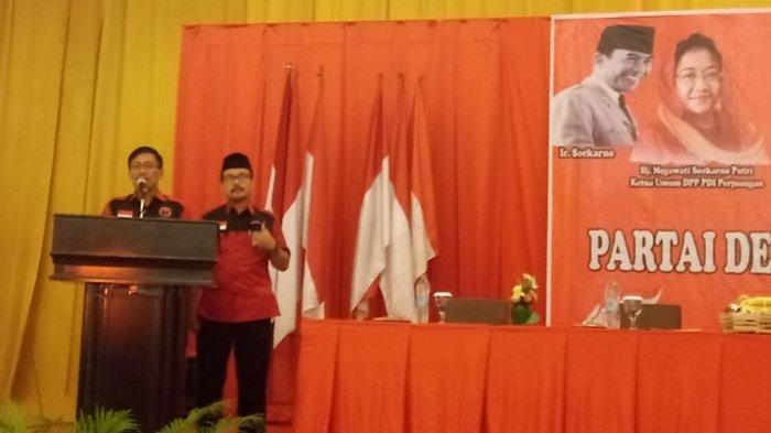 DPC PDI Perjuangan Cirebon Pastikan Kemenangan Sunjaya-Imran