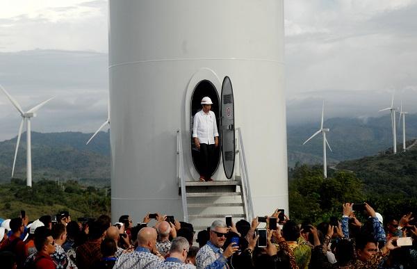 Jokowi: Investasi PLTB Mahal di Awal, Pengelolaan Murah