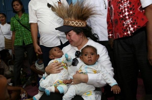 Buka Forum WNPG, Puan Ingin Gizi Buruk di Indonesia Teratasi