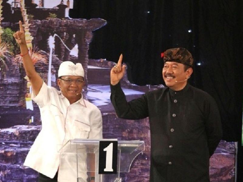 1.213.075 Suara Antarkan Koster Jadi Gubernur Bali