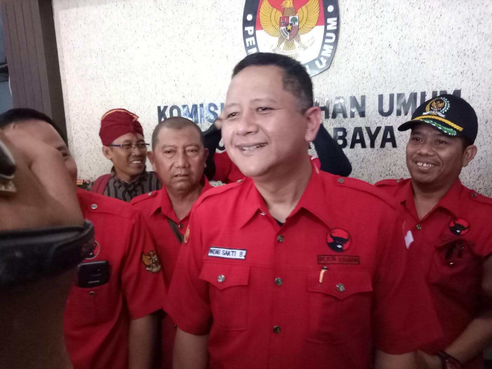 Whisnu Targetkan PDI Perjuangan Kuasai Surabaya