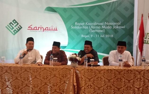 Solidaritas Ulama Muda Deklarasikan Dukung Jokowi 2 Periode